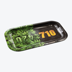 Moonrocks Metal/Silicone Hybrid Rolling Tray - Shag Alternative Superstore