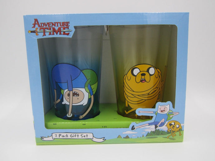 Adventure Time Pint Glass Set - Shag Alternative Superstore