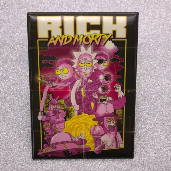 Rick and Morty Poster Cover Magnet - Shag Alternative Superstore