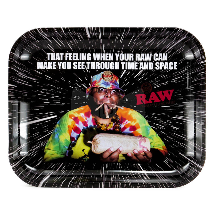 RAW Oops Metal Rolling Tray - Large (13.25x10.75