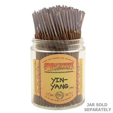 Wildberry Incense Shorties - Yin Yang