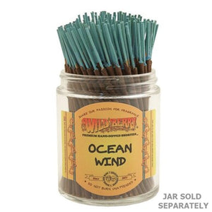 "Wildberry Incense Shorties 4"" - Ocean Wind - Shag Alternative Superstore"