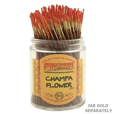 Wildberry Incense Shorties - Champa Flower