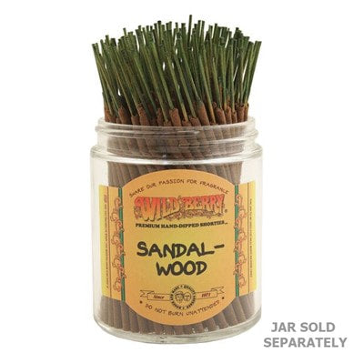 Wildberry Incense Shorties - Sandalwood