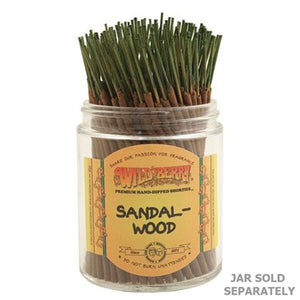 "Wildberry Incense Shorties 4"" - Sandalwood - Shag Alternative Superstore"