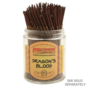 "Wildberry Incense Shorties 4"" - Dragon's Blood - Shag Alternative Superstore"