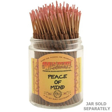 Wildberry Incense Shorties - Peace of Mind