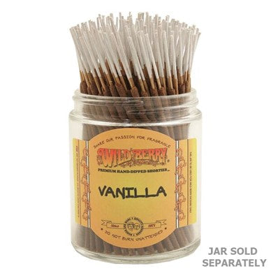 Wildberry Incense Shorties - Vanilla
