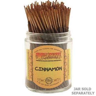 Wildberry Incense Shorties - Cinnamon
