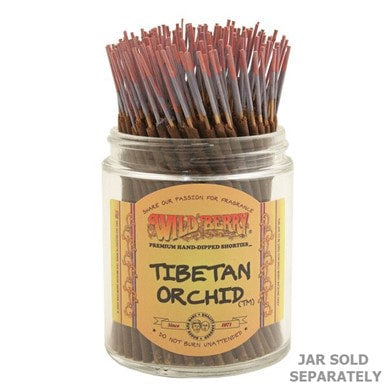 Wildberry Incense Shorties - Tibetan Orchid
