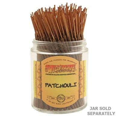 Wildberry Incense Shorties - Patchouli