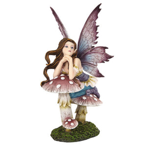Fairyland Mushroom Statue - Shag Alternative Superstore