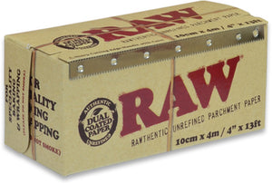 "RAW Parchment Paper 100mm (4""x13') - Shag Alternative Superstore"