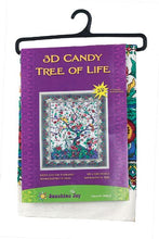 "Load image into Gallery viewer, 3-D Candy Tree Of Life Tapestry (60""x90) - Shag Alternative Superstore"