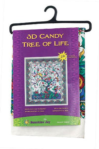 "3-D Candy Tree Of Life Tapestry (60""x90) - Shag Alternative Superstore"