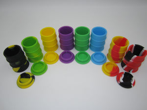 Silicone Oil Barrel Small - Asst Colors - Shag Alternative Superstore