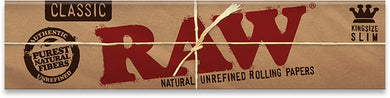 RAW Classic Kingsize Slim Papers - Shag Alternative Superstore