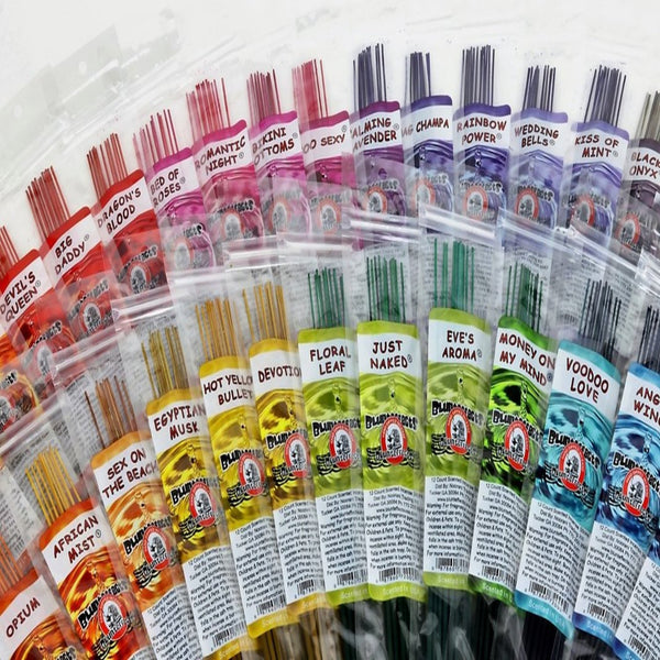 BluntEffects Incense Sticks - 40+ Scents - Shag Alternative Superstore