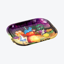 Load image into Gallery viewer, Alice Mushrooms Metal Rolling Tray - Shag Alternative Superstore