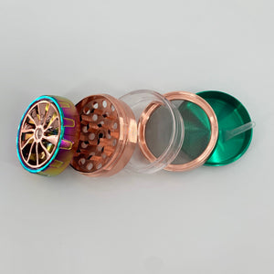 "Anodized Spinner 5-Part Grinder (2.25"")"