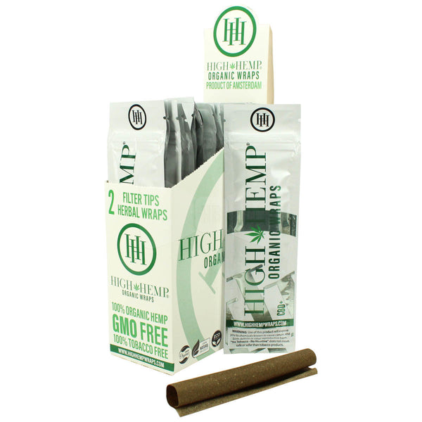 High Hemp Wraps - Original (2 Pack) - Shag Alternative Superstore