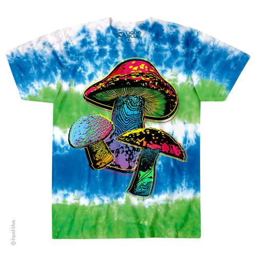 Psychedelic Shroom Tie Dye T-Shirt - Shag Alternative Superstore