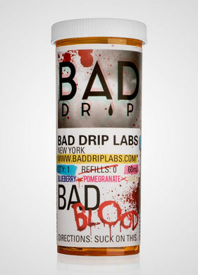 Bad Drip: Bad Blood 60ml - Shag Alternative Superstore
