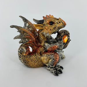 "Dragon Zodiac Leo Figurine (4"")"