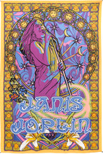 "Load image into Gallery viewer, Janis Joplin Tapestry (60""x90"") - Shag Alternative Superstore"