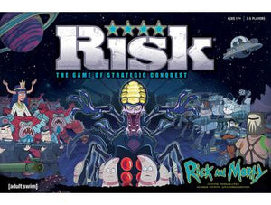 RISK: Rick and Morty Infinite Possibilities Across Infinite Universes Edition - Shag Alternative Superstore