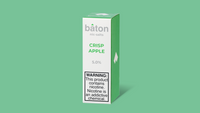 Baton Nic Salts: Crisp Apple 10ml - Shag Alternative Superstore