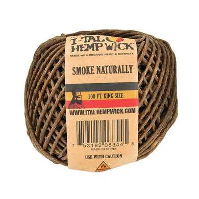 I-Tal Hemp Wick - King Size 100'