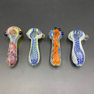"Thick Glass Pipe (4"") - Assorted"