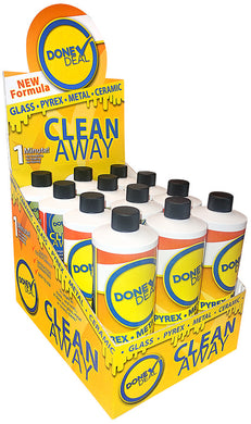 Done Deal Clean Away Glass Cleaner 16oz - Shag Alternative Superstore