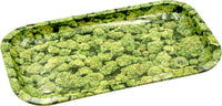 Buds Metal Rolling Tray - Medium - Shag Alternative Superstore