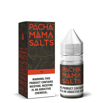 Pachamama: Fuji Apple Strawberry Nectarine Salts 30ml