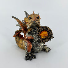 "Load image into Gallery viewer, Dragon Zodiac Leo Figurine (4"")"