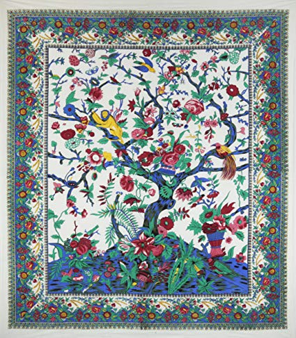 3-D Candy Tree Of Life Tapestry (60