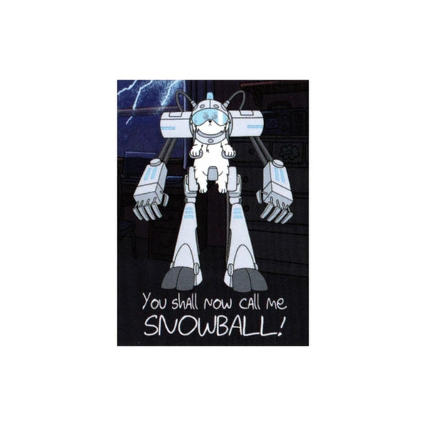 Rick and Morty Snowball Robot Magnet - Shag Alternative Superstore