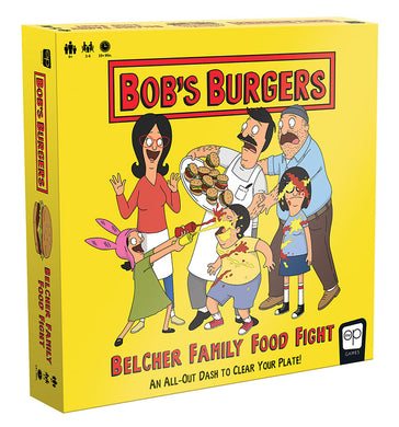 Bob's Burgers: Belcher Family Food Fight - Shag Alternative Superstore