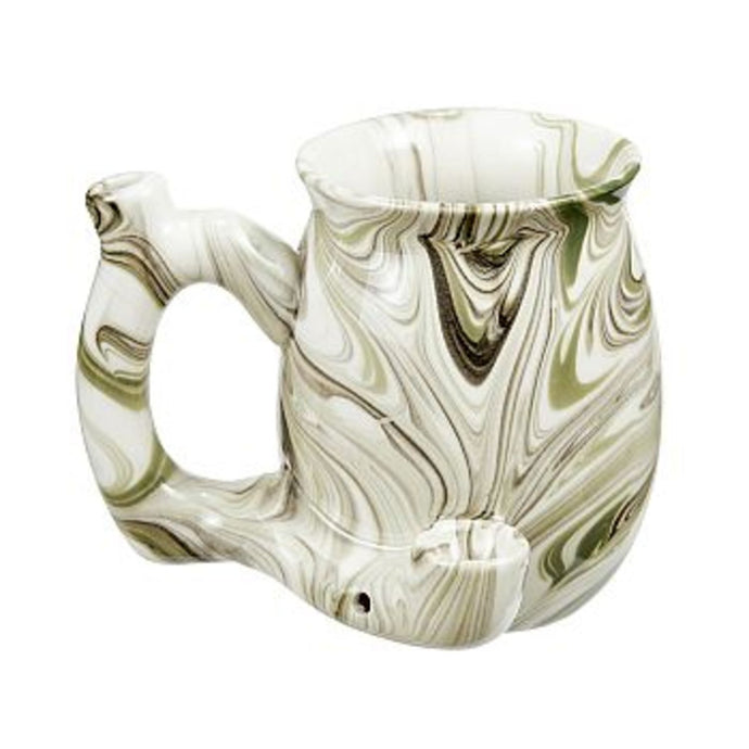 Roast & Toast Pipe Mug - Green Marble