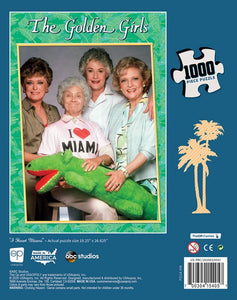 "The Golden Girls ""I Heart Miami"" 1000 Piece Puzzle - Shag Alternative Superstore"