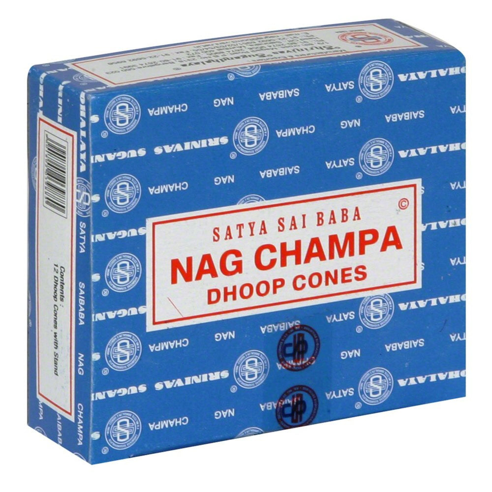 Satya Nag Champa Dhoop Cones - 12 Pack - Shag Alternative Superstore