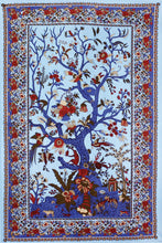"Load image into Gallery viewer, 3-D Tree of Life Tapestry (60""x90"") - Shag Alternative Superstore"