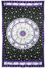 Load image into Gallery viewer, Astrology Chart Tapestry Tablecloth - Asst Colors - Shag Alternative Superstore