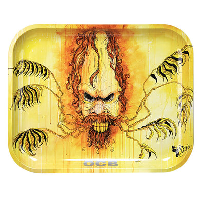 OCB Metal Rolling Trays - Sasquatch Limited Edition - Shag Alternative Superstore
