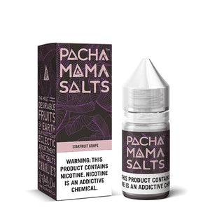 Pachamama: Starfruit Grape Salts 30ml - Shag Alternative Superstore