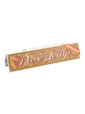 Pure Hemp Unbleached King Size Rolling Papers - Shag Alternative Superstore