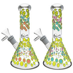 NEU Glass UV Reactive (Glow) Beaker 8