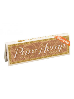 Pure Hemp Unbleached Rolling Papers (1 1/4